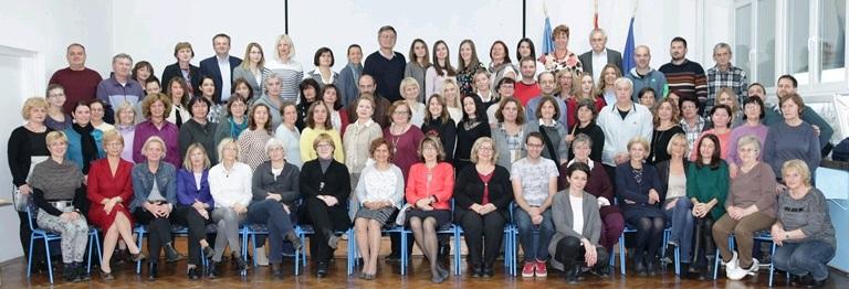 Zaposlenici X. gimnazije Ivan Supek